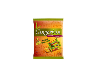 Stykra Gingerbon 125 g citron s medem