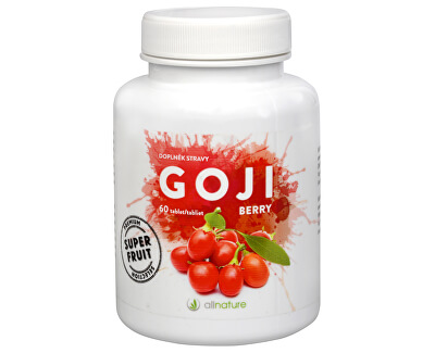 Allnature Goji Berry 60 tbl.