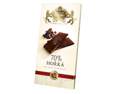 Carla Hořká čokoláda 70% - obdélník 80g