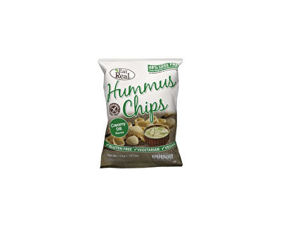 EatReal Hummus chipsy – s krémovým koprem 45g