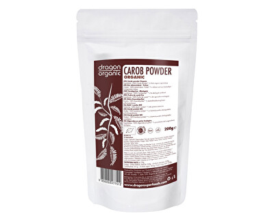 Dragon superfoods Bio Karob prášok 200g