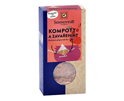 Sonnentor Bio Kompoty azavařeniny - koření vpyramidce 6 x 4,8 g