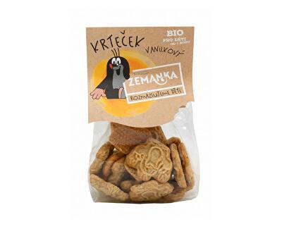 Biopekárna Zemanka Bio Krtkovy vanilkové sušenky 100 g