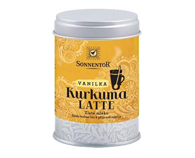 Sonnentor Bio Kurkuma Latte-vanilka 60g dózička (Pikantní kořeněná směs)