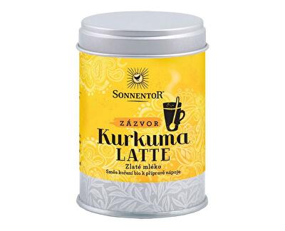 Sonnentor Bio Kurkuma Latte-zázvor 60g dózička (Pikantní kořeněná směs)