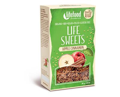 Lifefood Bio Life sweets Jablečné se skořicí 80g