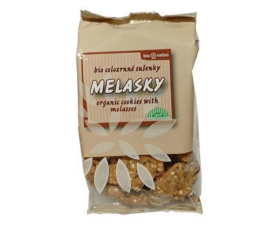 Bio nebio s. r. o. Bio Melasky - celozrnné sušenky 130g