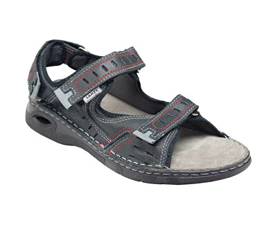 Pantofi de sănătate mens N / 158/32/69 negru