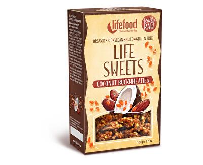 Lifefood Bio Life sweets pohánky kokosové 100g