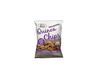 EatReal Quinoa chipsy – sušené rajče a restovaný česnek 30g