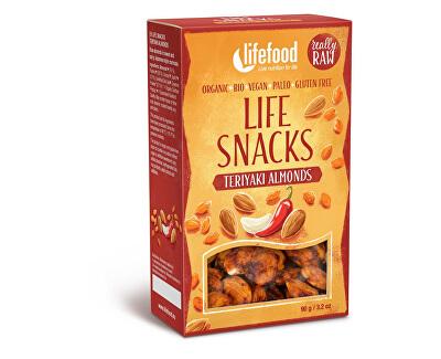Lifefood Bio Life snacks Teriyaki mandle 90g