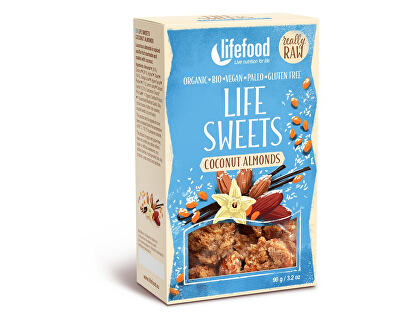 Lifefood Bio Life sweets zasněžené mandle 90g