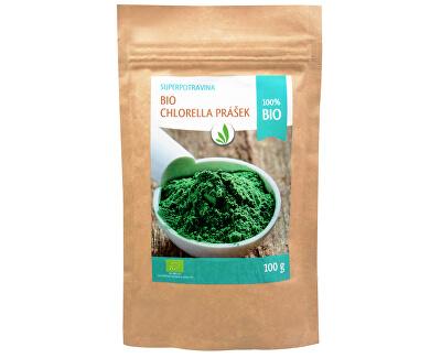 BIO Chlorella prášek 100 g - SLEVA - poškozená etiketa