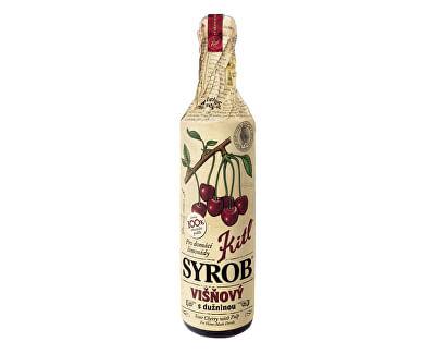 Kitl Kitl Syrob Višňový s dužinou 500ml - sirup pro přípravu domácích limonád