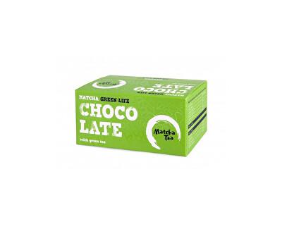 Čajová květina Matcha čokoláda 30g - Balení 15ks