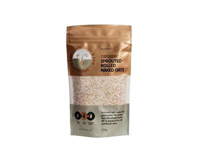 Sun and Seed Bio Naklíčené ovesné vločky raw 250g