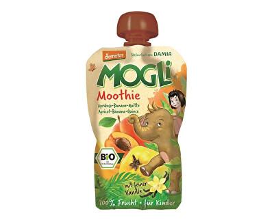 MOGLI Bio Ovocné pyré Moothie meruňka banán kdoule bez cukru 100g