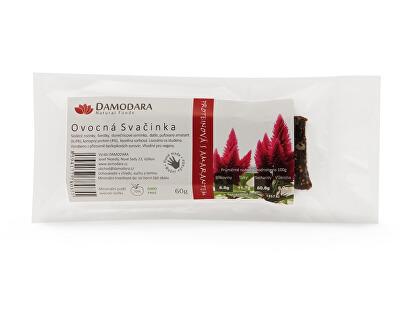 Damodara Tyčinka Ovocná svačinka proteinová s amarantem 60g