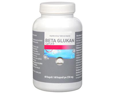 Pharma Activ Beta Glukan 1,3/1,6 D čistý 60 kapslí