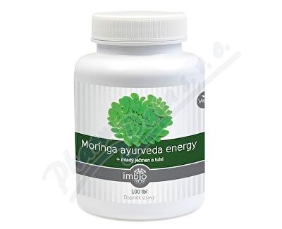 Amtec trading Imbio Moringa ayurveda energy tbl.100