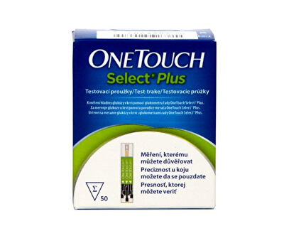 Johnson & Johnson Test.proužky OneTouch Select Plus 50ks