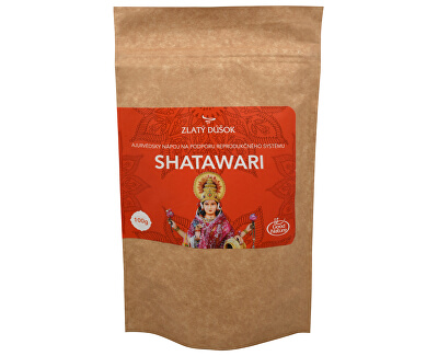 Good Nature Zlatý doušek - Ajurvédská káva SHATAWARI 100 g - SLEVA - poškozená etiketa