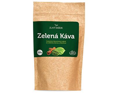 Zlatý doušek - Zelená káva se skořicí 100 g
