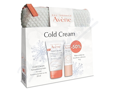 PIERRE FABRE DERMO-COSMETIQUE AVENE Cold cream creme mains 50ml+Stick levres 4g