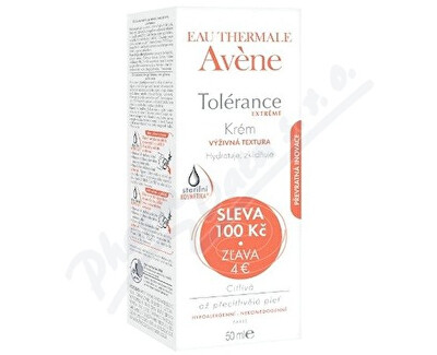 PIERRE FABRE DERMO-COSMETIQUE AVENE Tolerance extreme creme 50ml SLEVA