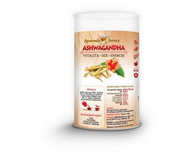 honeyherbs Ajurvéda med Ashwaganda 5x15g TUBUS - vitalita-sex-energie