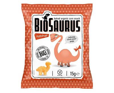 Biosaurus Bio Biosaurus křupky s kečupem 15g