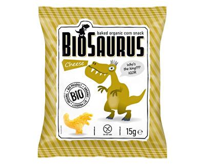 Biosaurus Bio Biosaurus křupky se sýrem 15g