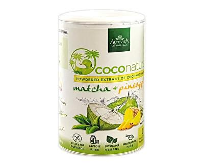 Altevita Coco natural 140g Tubus Matcha-Pineapple - instantní kokosová voda