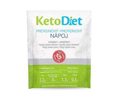 Proteinový nápoj 7 x 27 g + příchutě - (příchuť banán - SLEVA - KRÁTKÁ EXPIRACE 14.2.2020)