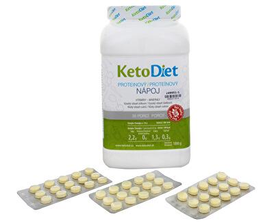 KetoDiet Proteinový nápoj na 1 týden (35 porcí)