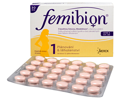 FEMIBION Femibion 1 s vitamínem D3 30 tbl.