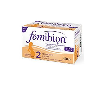 FEMIBION Femibion 2 s vitamínem D3 30 tbl. + 30 tob.