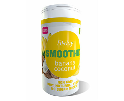 FIT-DAY FIT-DAY Plant based smoothie BANANA-COCONUT 600 g