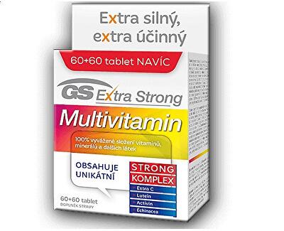 GreenSwan GS Extra Strong Multivitamin 60 tbl. + 60 tbl. ZDARMA