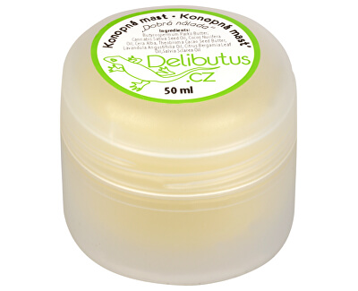 Delibutus Konopná masť Dobrá nálada 50 ml