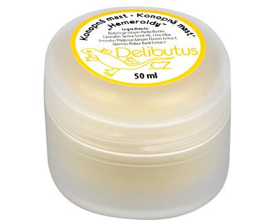 Delibutus Konopná masť na hemoroidy 50 ml