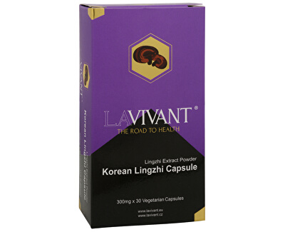 La Vivant Korean Lingzhi (Ganoderma, reishi) 30 kapsúl