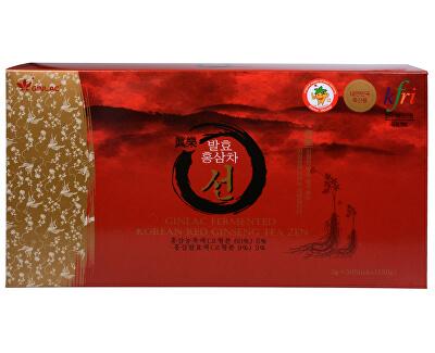GINLAC Korean Red Ginseng TEA ZEN - čaj z korejského červeného ženšenu 50 x 3 g