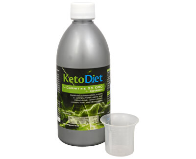 KetoDiet L-Carnitine 35 000 + chrom 500 ml