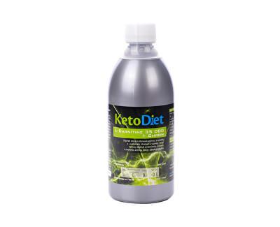 KetoDiet L-Carnitine 35 000 + chrom 500 ml