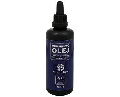 Renovality Meruňkový olej za studena lisovaný 100 ml