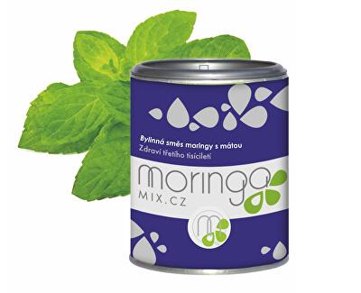Moringa MIX Bylinná směs moringy s mátou 100 g