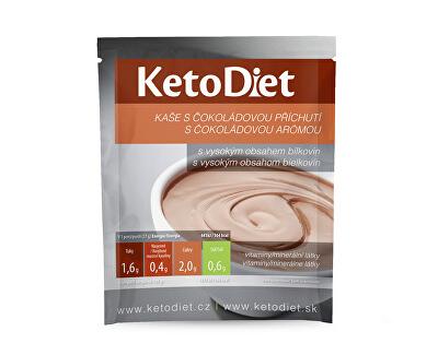 Proteinová čokoládová kaše 7 x 27 g