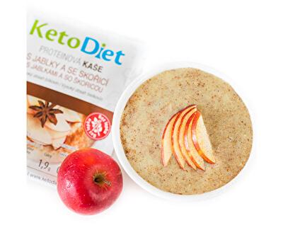 Proteinová kaše s jablečno - skořicovou příchutí 7 x 27 g