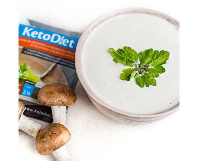 Proteinová polévka se zeleninou a houbovou příchutí 7 x 27 g